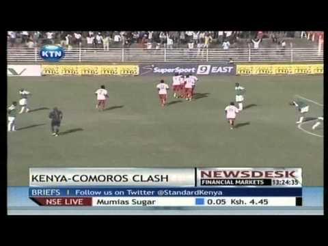 Comoros Island welcomes Kenya in a tight clash for qualifiers