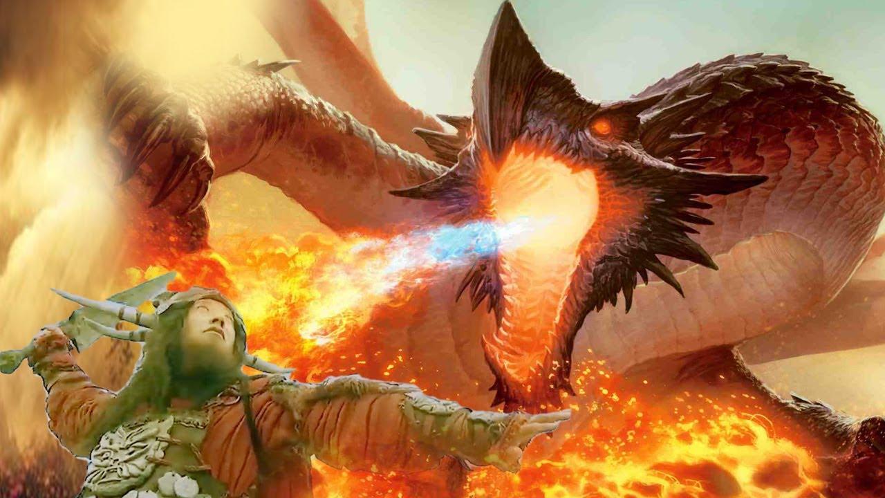 Chiến binh rồng phóng hỏa thiêu rụi liên quân yêu quái    Phim hay 2020