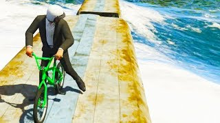 GTA 5 Funny Moments - BMX Cheats Online (GTA V Online Gameplay)