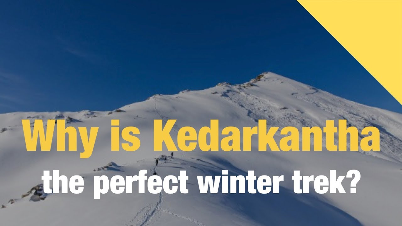 Kedarkantha Trek-The best winter trek in the Himalayas
