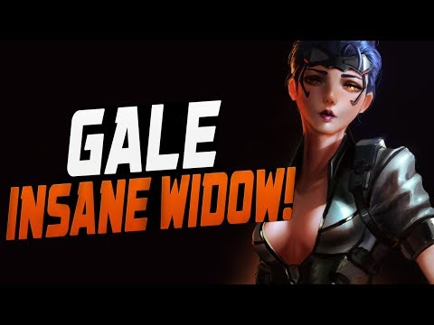 GALE - Insane Widow! 42% Scoped Accuracy! [ OVERWATCH SEASON 11 TOP 500 ] thumbnail