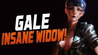 GALE - Insane Widow! 42% Scoped Accuracy! [ OVERWATCH SEASON 11 TOP 500 ]