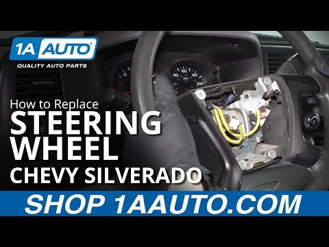 How to Replace Steering Wheel 07-13 Chevy Silverado