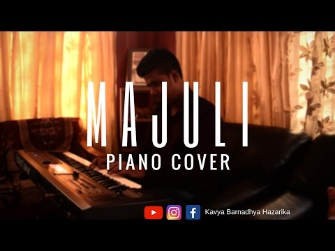 Majuli Nilotpal Bora | New Assamese Song | Cover (Piano) | Pancham