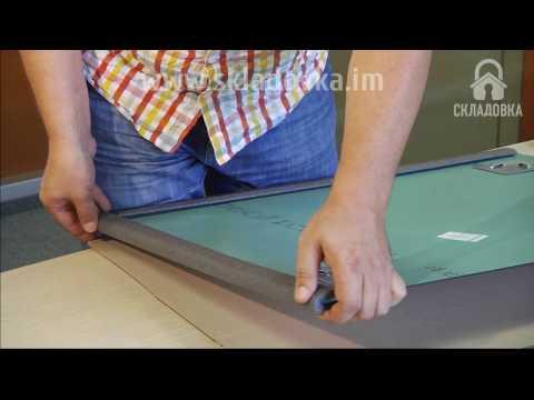 Verpackung für ein Sicherheitsprofil , Wellpappe und Luftpolsterfolie beweglichen Spiegel