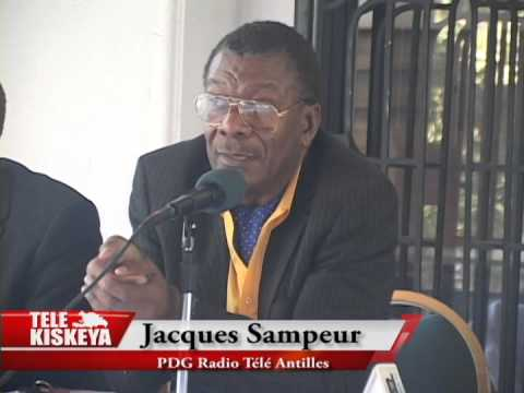 Jacques Sampeur, PDG de Radio Télé Antilles Internationale, autour de Rainbow Push Coalition