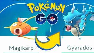 MagiKarp Evolved Pokemon go