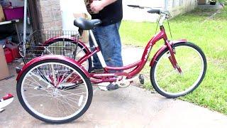 How To Assemble & Motorize a Schwinn Meridian Adult 3 Wheel Trike