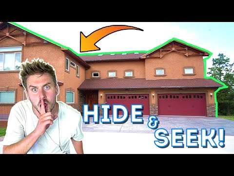 HIDE N SEEK IN OUR NEIGHBORS HOUSE!