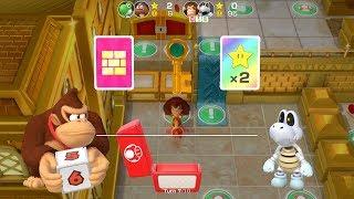 Super Mario Party Partner Party #330 Tantalizing Tower Toys DK & Dry Bones vs Yoshi & Goomba