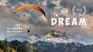 "Paragliding. ""Dream. The feeling of flight"""