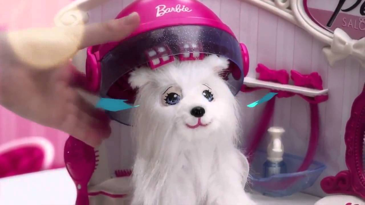 Salon Uñas Intek - Barbie Pet Salon - Youtube