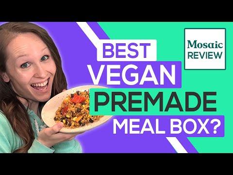 Mosaic Foods Review 2020: Best Healthy Vegan Frozen Meals? (Taste Test) - Видео онлайн