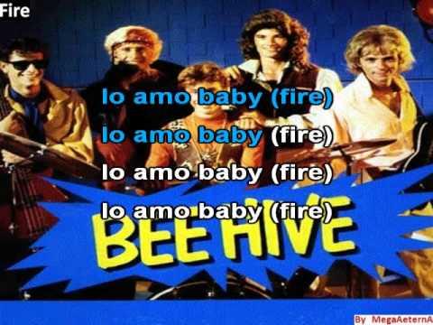 fire - bee hive - karaoke