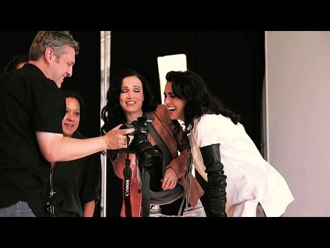 """Within Temptation ft. Tarja - The photo shoot of """"Paradise (What About Us?)"""""""