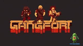 видео Скачать Gangfort - online 2D shooter на Андроид