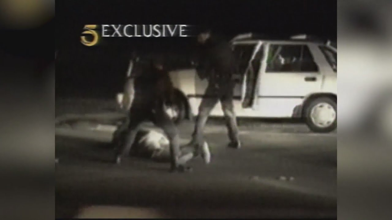 1991: Video of police officers beating Rodney King sparks outrage
