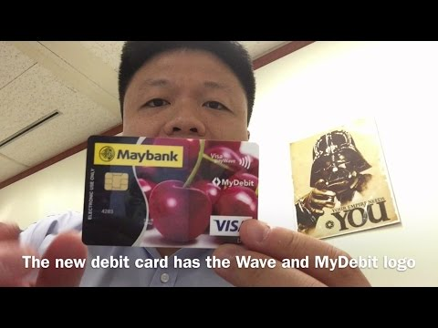 How-To: Maybank ATM/Debit Card