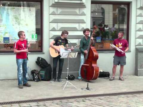 A really good quartet in Riga performed