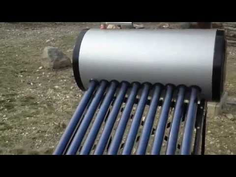 4 - Solar Water Heater Temperature Test (Day 2)