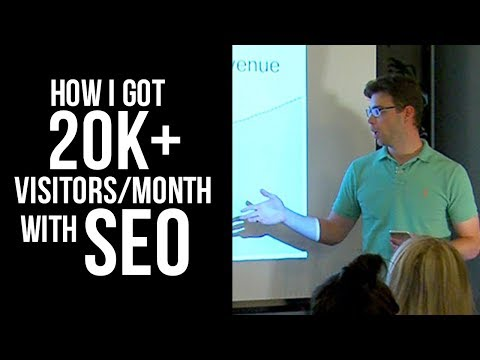 SEO Case Study: How I Got 20k+ Organic Visitors/Month