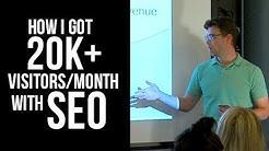 SEO Case Study: How I Got 20k+ Organic Visitors/Month