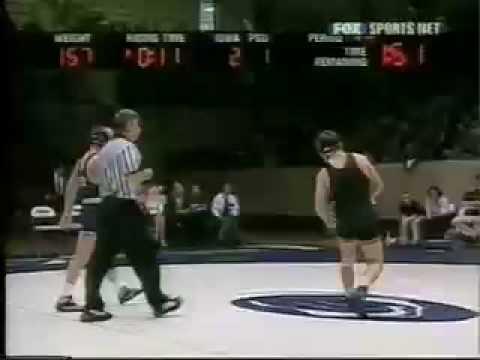 Joe Johnston Iowa vs Nate Wachter Penn State