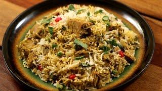 Kathal Pulao Recipe | Raw Jackfruit Pilaf  | Divine Taste With Anushruti