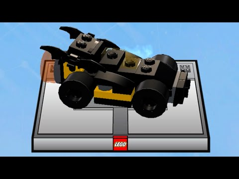 Lego Dimensions Build The Batmobile To Start The Portal Youtube