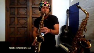 London Grammar - Sax Cover Tonio is Kenan - Wasting your young years
