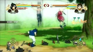naruto storm 1 sasuke vs neji