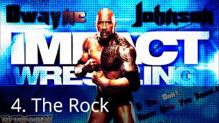 Top Ten WWE gone TNA Theme songs