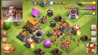 Savunmasız Köy Sıfırdan #5 / Inşaatçı Üssü Savaşları ( Kısa Video) - Clash of Clans
