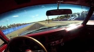 1965 GTO Drag run Helmet cam