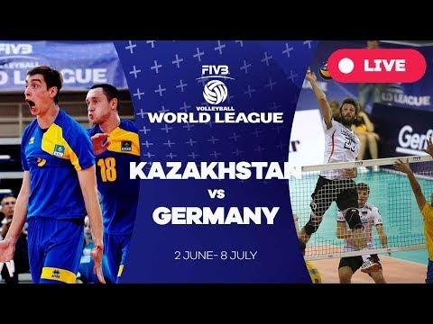 Kazakhstan V Germany - Group 3: 2017 FIVB Volleyball World League