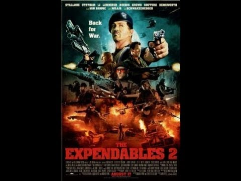 The Expendables 2 Movie Review!!!