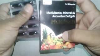 Multifresh Softgels review in Hindi स्वस्थ व निरोगी रहने के बेहतरीन उपाय !