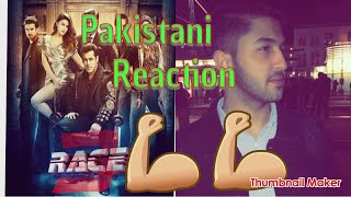 Pakistani Reaction| Race 3 l Official Trailer l Salman Khan I Remo Dsouza l 15th June 2018