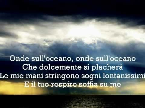 Josh Groban Oceano with lyrics