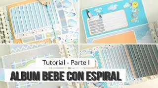 "ALBUM DE BEBE  ""FROM THE SKY"" CON KORA PROJECTS (PARTE 1. ESTRUCTURAS) - TUTORIAL 