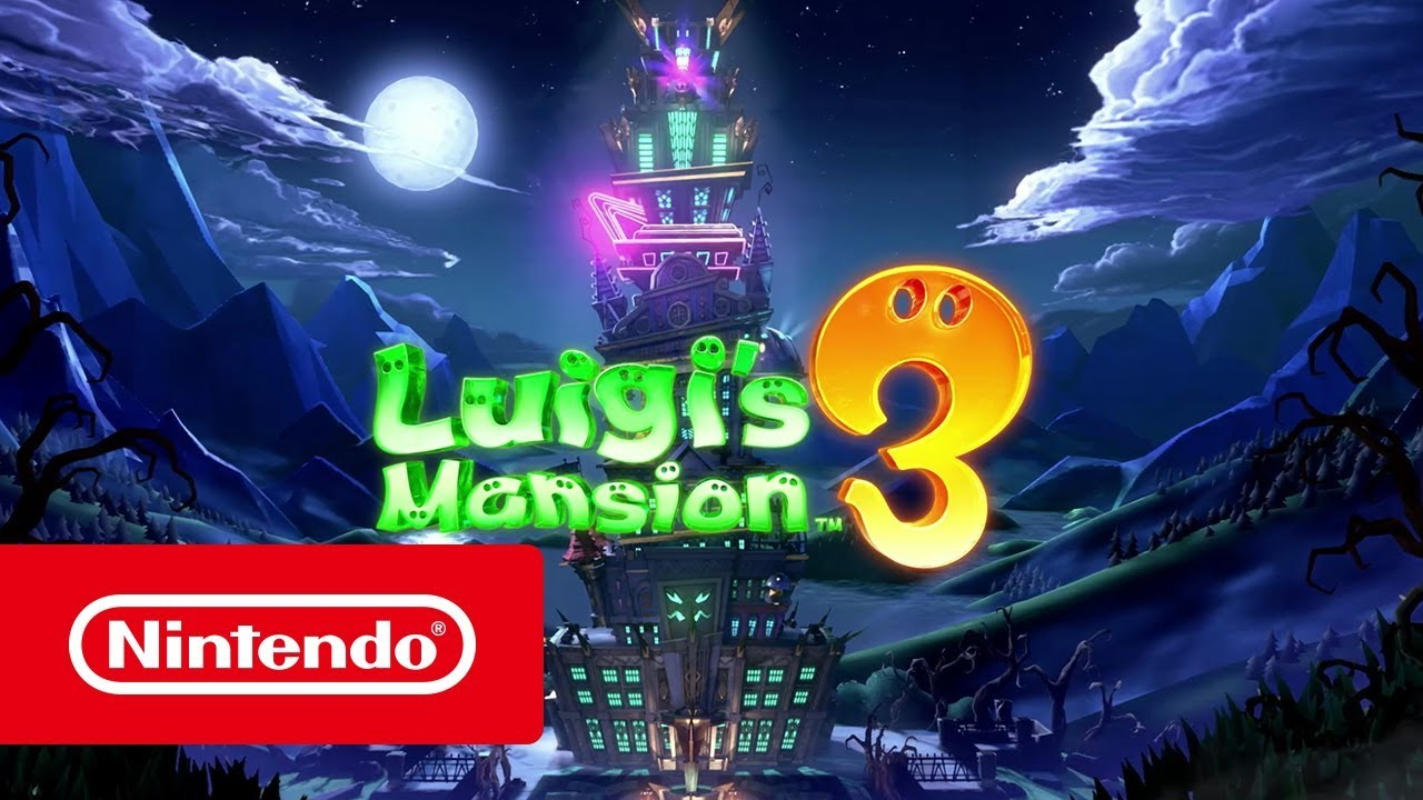 Luigi's Mansion 3 - Luigi's nightmare trailer (Nintendo Switch) - YouTube