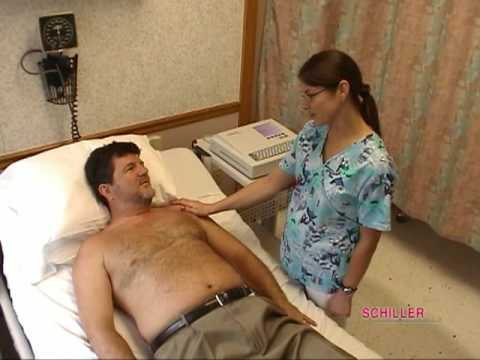 Schiller - Performing an ECG/EKG Test