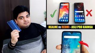 Redmi Note 7 Pro vs Realme 3 Pro User Interface | MIUI 10 VS COLOR OS 6