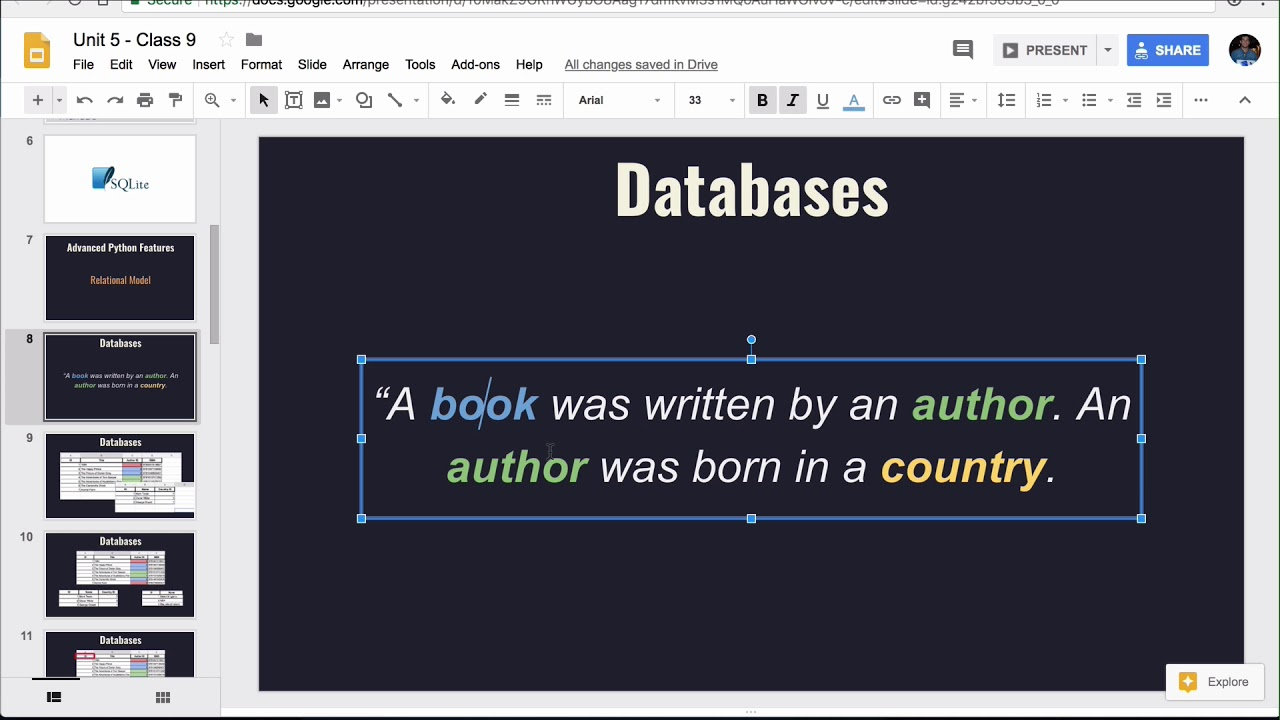 Intro to Databases Lesson - Base Python Track