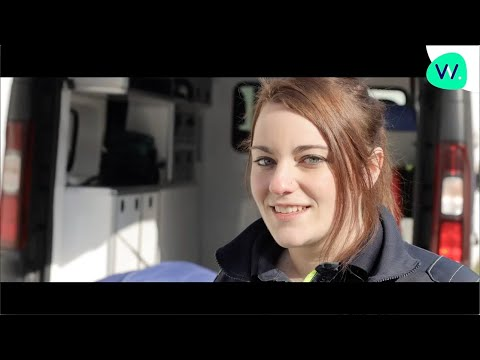 Camille, Ambulancière formée par AFTRAL