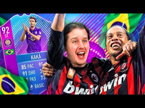 THE BEST 99 STAT IN FIFA?! 92 END OF ERA KAKA MILAN SQUAD! FIFA 18 ULTIMATE TEAM