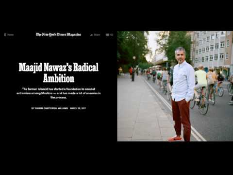 Maajid Nawaz's Radical Ambition - New York Times Magazine