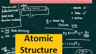 structure of atom in hindi