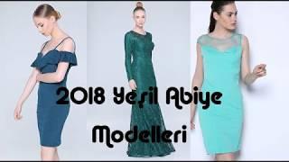 Tozlu Giyim Yeşil Abiye Modelleri 2018