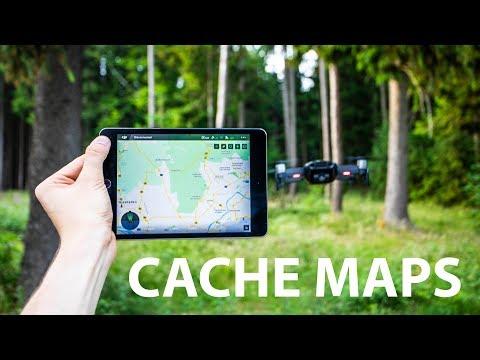 How To Cache Maps |DJI Go 4 App + IOS (Mavic, Phantom, Spark, Inspire)